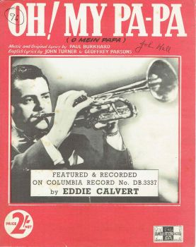 Oh! My Pa-pa (O Mein Papa) - Preloved Sheet Music