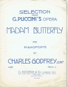 Selections from Madam Butterfly - Preloved Sheet Music