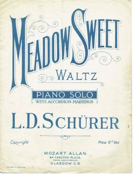 Meadow Sweet - Preloved Sheet Music
