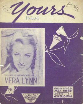 Yours - Preloved Sheet Music