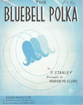 The Bluebell Polka - Preloved Sheet Music