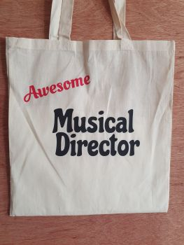 Awesome Musical Director - 100% Cotton Bag