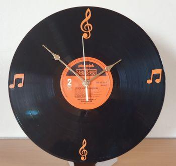 """Record Clock - 12"""" Album Record with Clock Movement (FD)"""