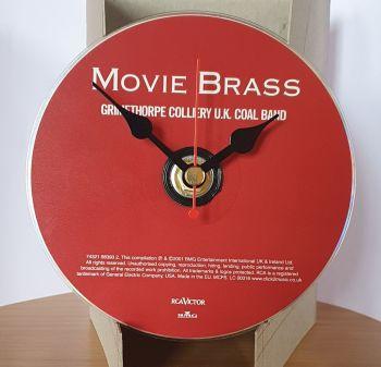 CD Clock - Movie Brass CD Clock Movement (1)