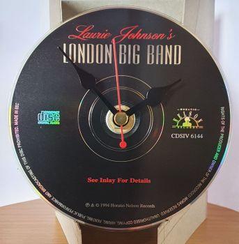 CD Clock - London Big Band Black CD Clock Movement (3)