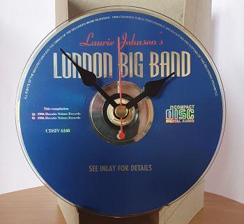 CD Clock - London Big Band Blue CD Clock Movement (2)