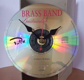CD Clock - Brass Band Spectacular CD Clock Movement