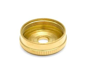 Besson Prestige Cornet Bottom Cap - Gold Plated