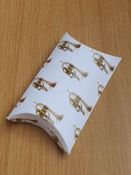 Pillow Box Favour Box - Cornets ~ White