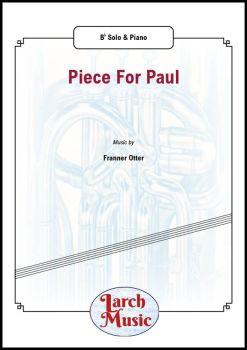 Piece for Paul - Cornet & Piano