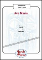 Ave Maria (Bach) - Eb & Piano