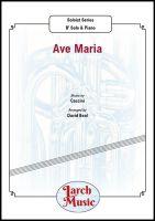 Ave Maria (Caccini) - Eb & Piano