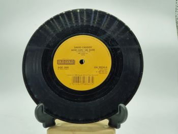 """David Cassidy ~ How Can I Be Sure - 7"""" Single Record with Clock Movement (4)"""