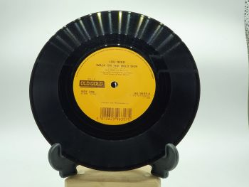 """Lou Reed ~ Walk On The Wild Side - 7"""" Single Record with Clock Movement (6)"""