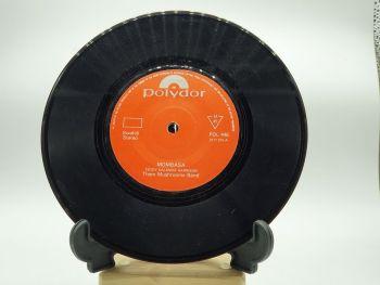 "Them Mushrooms Band ~ Mombasa - 7"" Single Record with Clock Movement (8)"