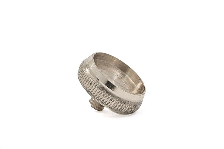 Finger Button - Nickel without pearl