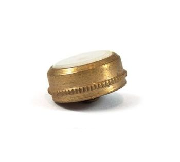 Boosey & Hawkes Imperial  Cornet - Finger Button - Small Brass - Knurled Edge with Pearl
