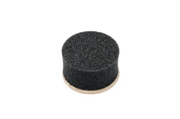 Non-Compressing Rubber Water Key Disc - 9mm x 3.5mm - Synthetic Material - Self Adhesive