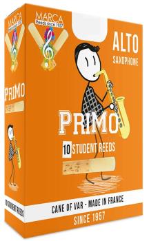 Marca Primo Alto Saxophone Reeds - Size 1.5
