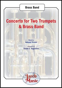 Concerto for Two Trumpets & Brass Band - Bb or Eb Duet & Brass Band