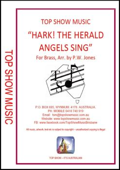 Hark The Herald Angels Sing - Brass Band