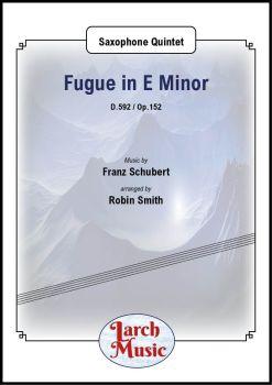 Fugue in E Minor - Saxophone Quintet