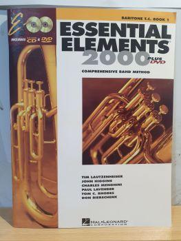 Essential Elements 2000 - Baritone T.C. Book 1