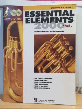 Essential Elements 2000 - Baritone B.C. Book 1