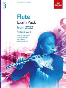 Flute Exam Pack 2022-2025 Grade 3