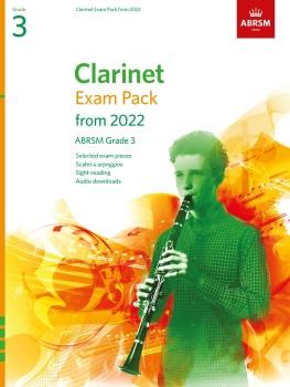Clarinet Exam Pack 2022-2025 Grade 3