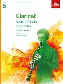 Clarinet Exam Pieces 2022-2025 Grade 6