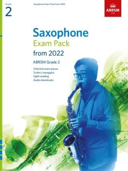 Saxophone Exam Pack 2022-2025 Grade 2
