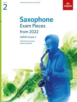 Saxophone Exam Pieces 2022-2025 Grade 2
