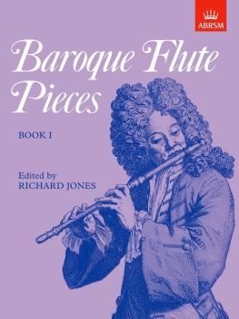 Baroque Flute Pieces, Book I