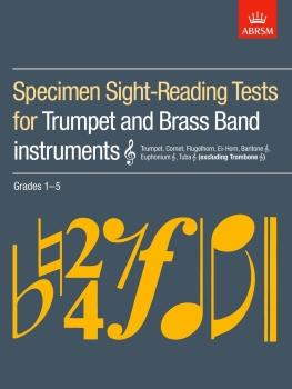 Specimen Sight-Reading Tests for Trumpet