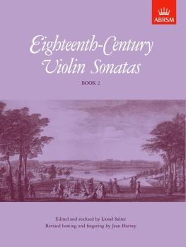 Eighteenth-Century Violin Sonatas, Book 2
