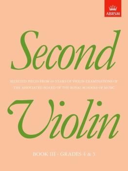 Second Violin, Book III