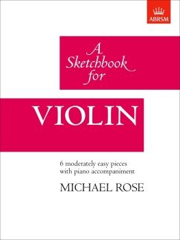 A Sketchbook for Violin