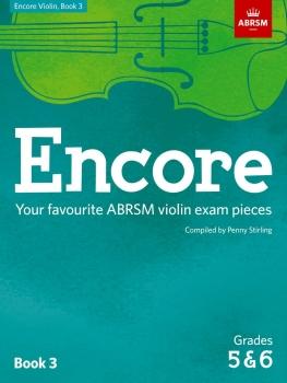 Encore - Violin Book 3 (Grades 5 & 6)