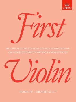 First Violin Book 4 (Grades 6 & 7)
