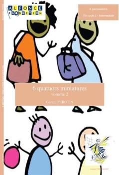 6 Quatuors Miniatures Volume 2