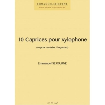 10 Caprices Pour Xylophone