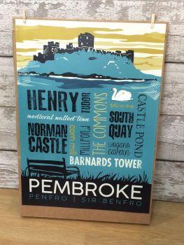 A2 Pembroke poster