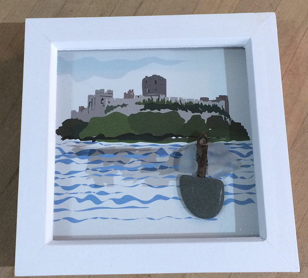 Pembroke Castle box frame