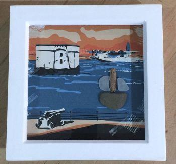 Pembroke Dock Sunderland box frame