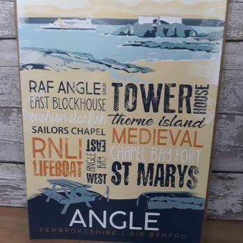 A2 Angle Poster