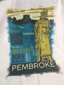 Henry Tudor, Pembroke Tea Towel