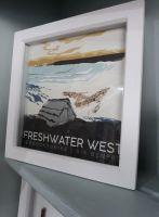 Freshwater West box frame