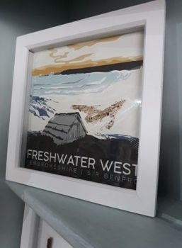 Freshwater West box frame