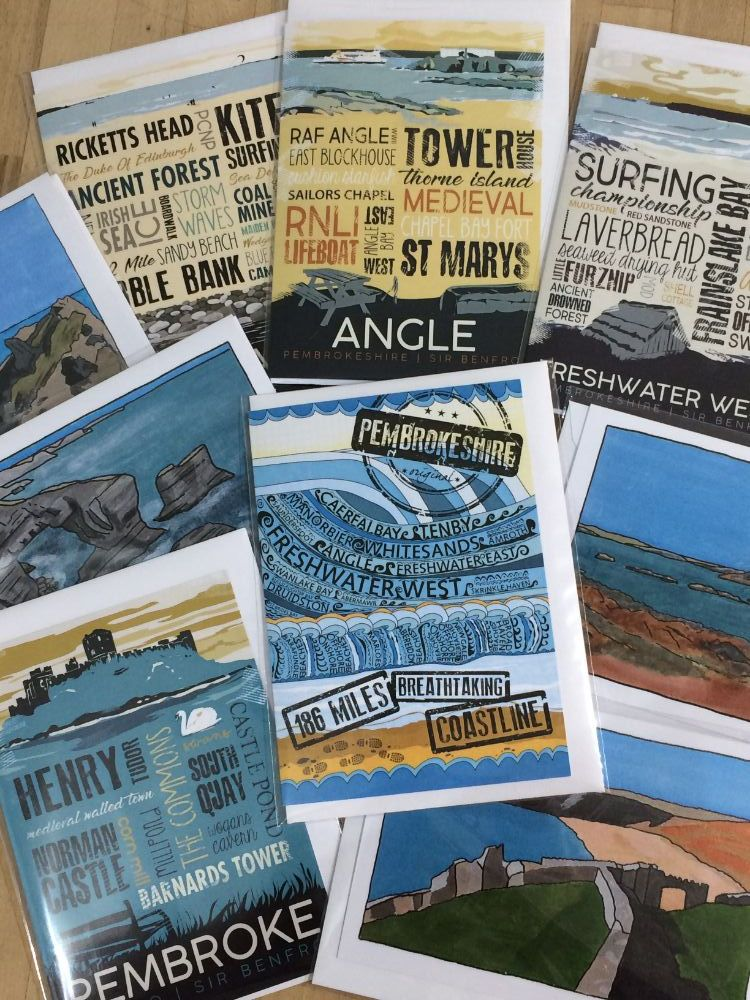 Pembrokeshire Greeting Cards